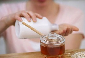Жир с мёдом